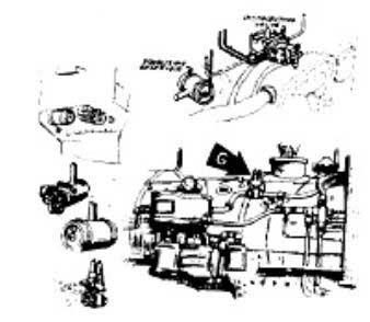 Headlight Cal-Scale 190-206 H0 Detail Part