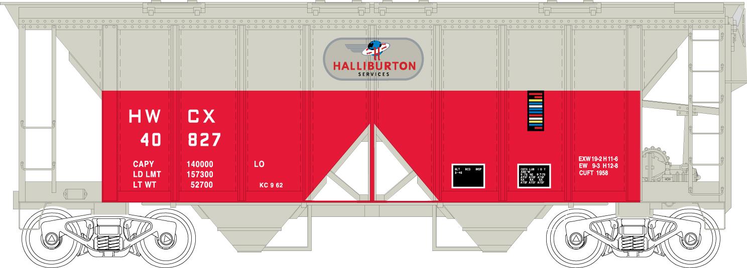 HO 70 Ton Covered Hopper Cars History