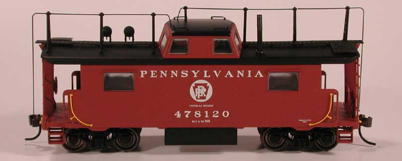 "HO Scale ""RTR"" PRR Class N8 Cabin Car Announced"