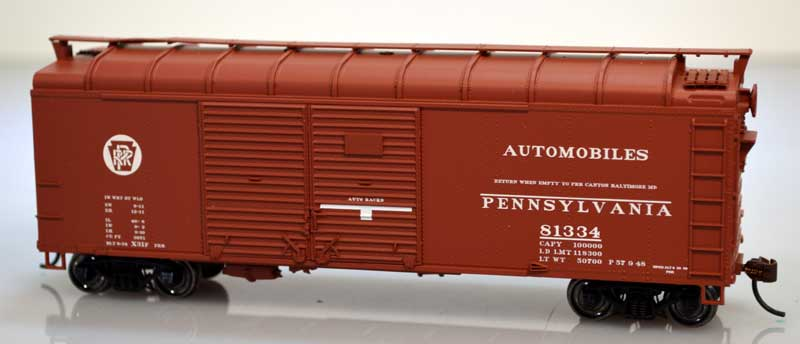 HO Scale: PRR X31 Series Box Cars and K11 Stock Cars