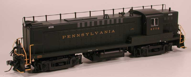 HO Scale PRR Baldwin RS-12 Announced