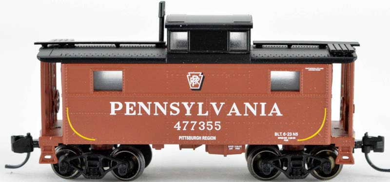 Bowser N-Scale PRR N5B Eastern Region Caboose #477764 w//Trainphone 37909